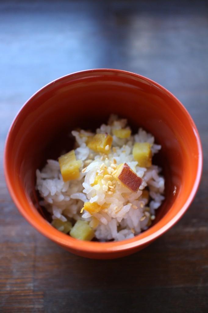さつまいもと生姜のご飯