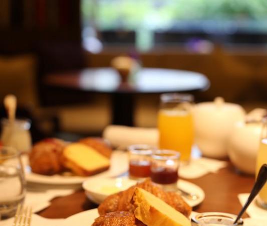 リッツで朝食を
