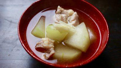 冬瓜とかしわの煮物